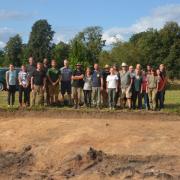 Członkowie polsko-litewsko-niemiecko-duńskiej  ekspedycji w 2018 r., fot. L. Lauritsen